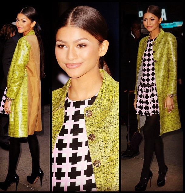 Mg Style Star Zendaya Coleman Mercy And Grace Boutique